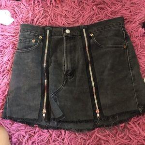 Carmar denim (LF) jean skirt